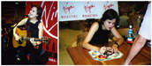 Juliana Hatfield at the Virgin Megastore 08-28-98